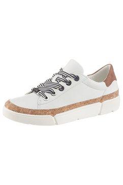 ara sneakers rome met zacht verdikte binnenzool wit