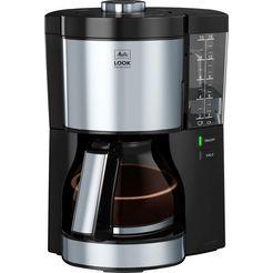 melitta »look v perfection 1025-06 schwarz« filterkoffieapparaat zwart
