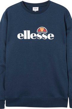 ellesse sweatshirt »pizzoli« blauw