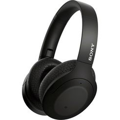 sony »wh-h910n« over-ear-koptelefoon (google assistant, bluetooth) zwart