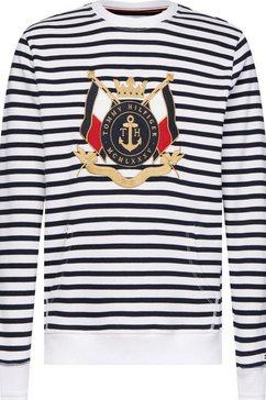 tommy hilfiger sweatshirt »naval striped sweatshirt« wit