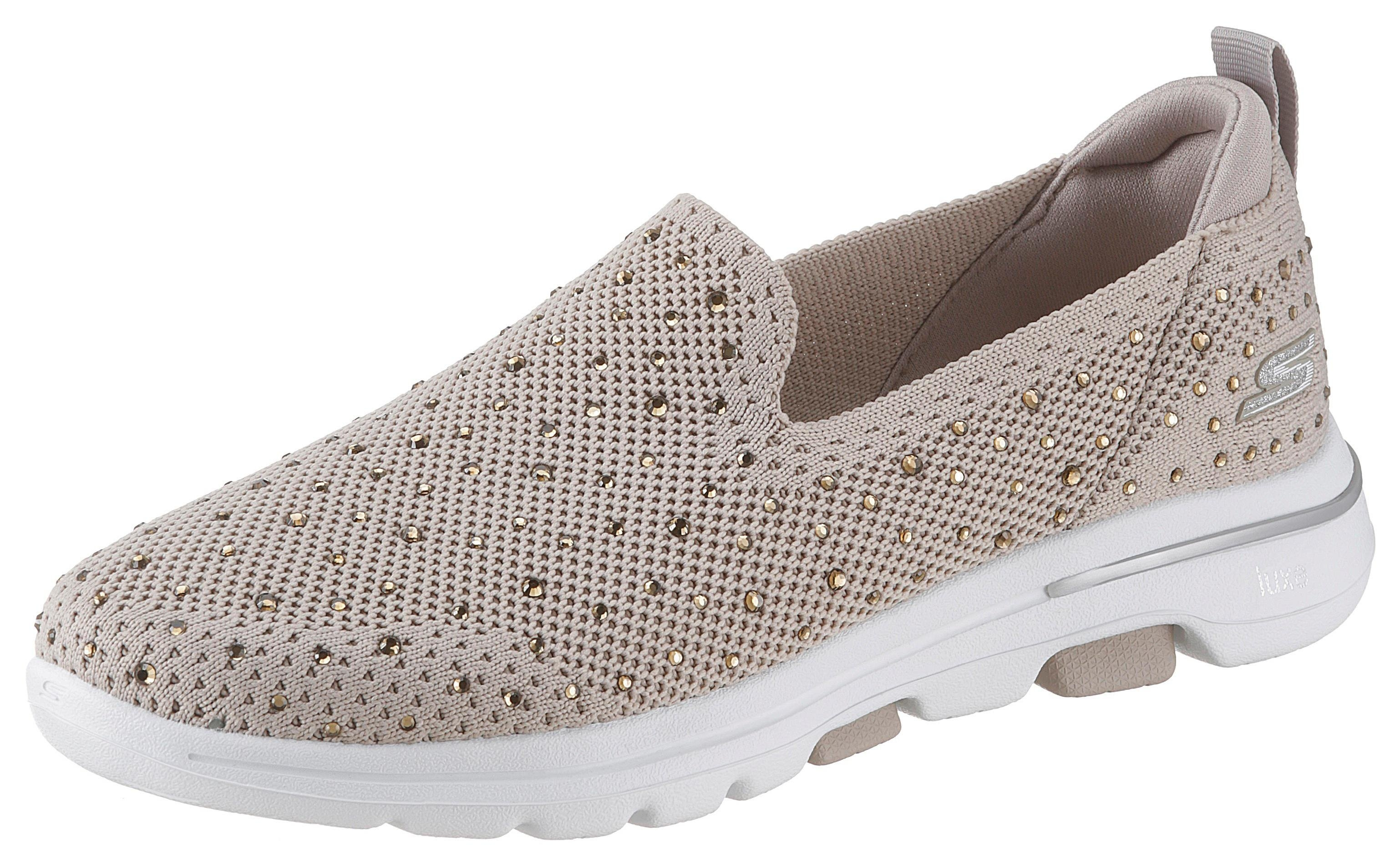 SKECHERS slip-on sneakers »Go Walk 5 - Limelight« nu online bestellen