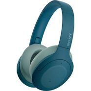 sony »wh-h910n« over-ear-koptelefoon (google assistant, bluetooth) blauw