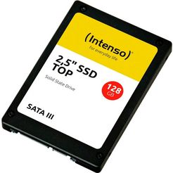 "intenso »2,5"" ssd top« ssd zwart"