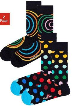 happy socks sokken zwart