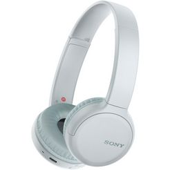 sony »wh-ch510« on-ear-koptelefoon (google assistant, siri, bluetooth) wit