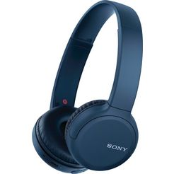 sony »wh-ch510« on-ear-koptelefoon (google assistant, siri, bluetooth) blauw