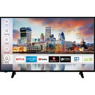 hanseatic 50h600uds led-tv (126 cm - 50 inch), 4k ultra hd, smart-tv zwart