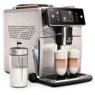 saeco »sm7785-00 xelsis, 20 kaffeespezialitaeten, edelstahl-anthrazit« volautomatisch koffiezetapparaat grijs