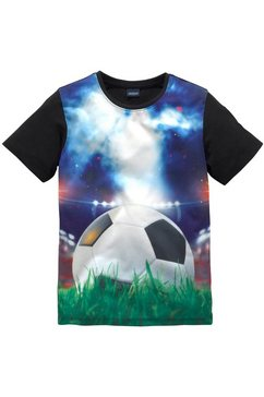 arizona t-shirt »voetbal« zwart