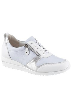 waldlaeufer sneakers met sleehak »havy« wit