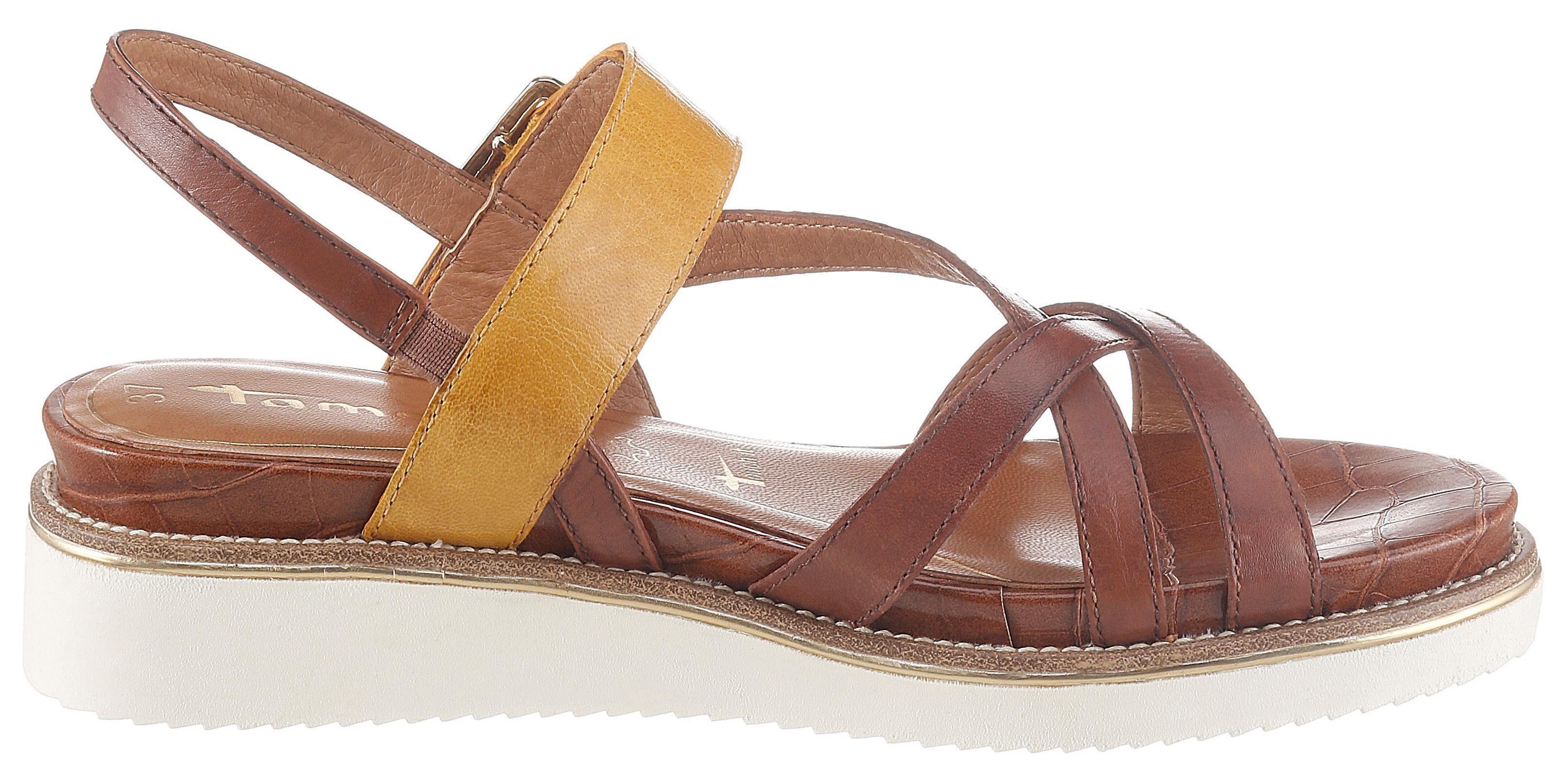 Sandalen von Tamaris in Orange für Damen