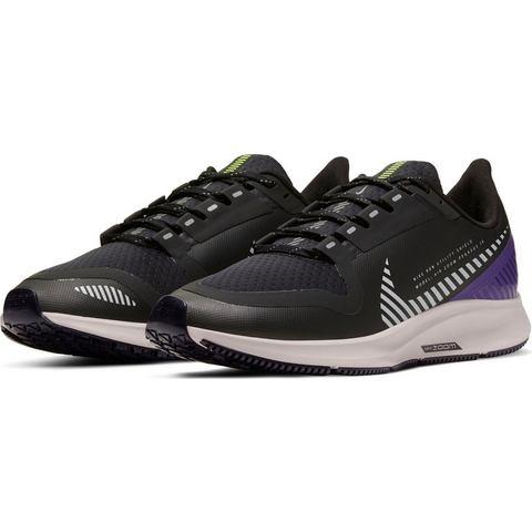 Nike Air Zoom Pegasus 36 Shield hardloopschoenen zwart-zand-paars