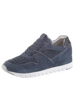 caprice sneakers met sleehak blauw