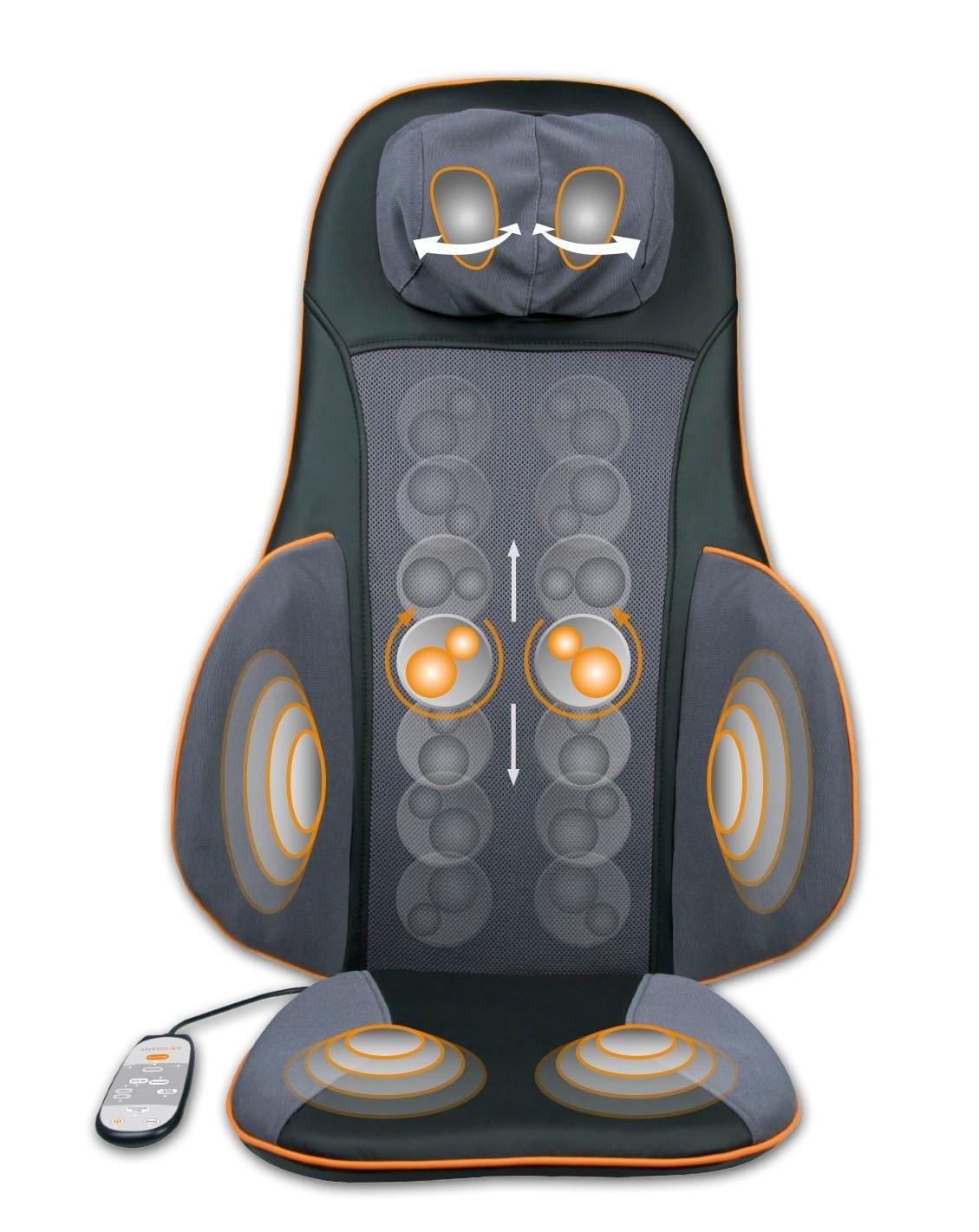 Medisana massagekussen MC 825 innovatieve acupressuurmassage rond de taille en de bovenbenen (1-delig) - verschillende betaalmethodes