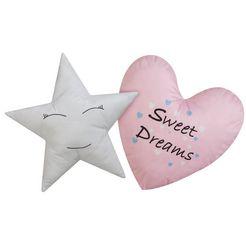 luettenhuett sierkussen »sweet dreams«, luettenhuett roze