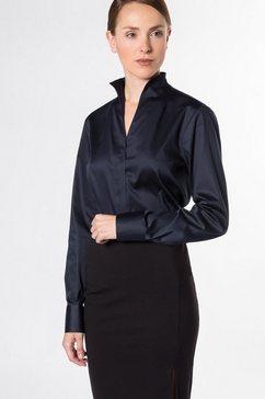 eterna lange mouw blouse »modern classic« blauw