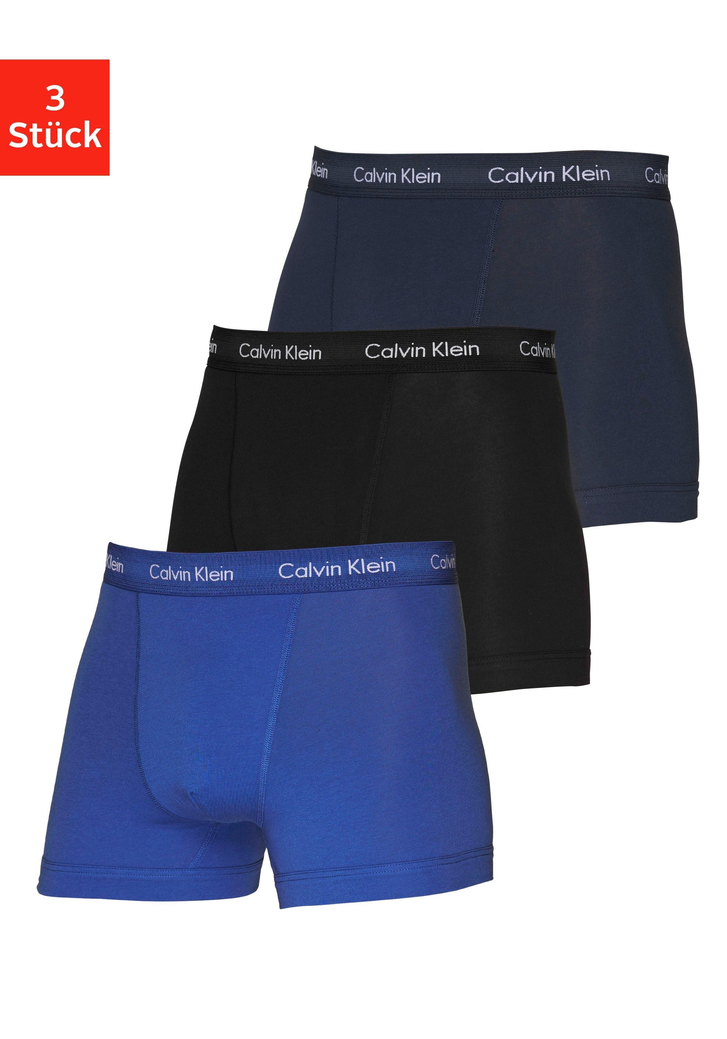 Calvin Klein boxershort in blauwtinten (3 stuks) veilig op otto.nl kopen