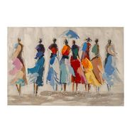 echt schilderij multicolor