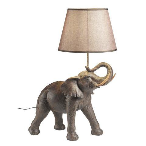 Lamp 'Olifant' Kare Design Bruin