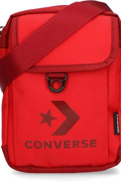 converse schoudertas »cross body 2, red« rood