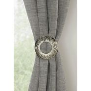 gardinia deco-klem »dekospange ring« zilver