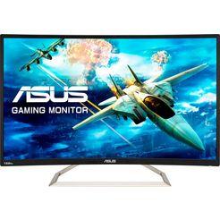 asus »va326hr« curved-gaming-monitor zwart