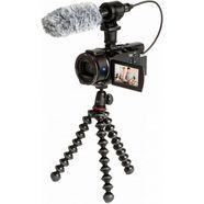 sony camcorder fdrax53vgpdi.eu inclusief cg-60 microfoon  joby gorillapod zwart