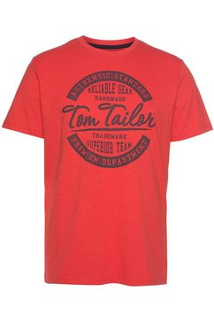 tom tailor t-shirt rood
