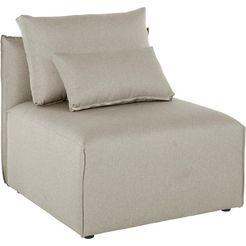 elbgestoeber fauteuil »elbdock« beige