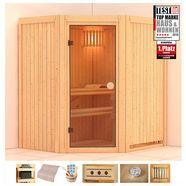 konifera sauna 170x151x1x198 cm, zonder oven beige