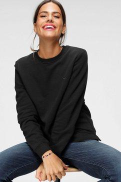 tommy hilfiger sweatshirt »heritage crew neck sweatshirt« zwart