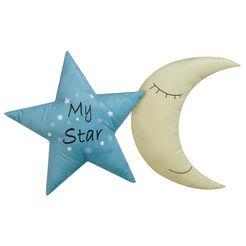 luettenhuett sierkussen »my star«, luettenhuett blauw