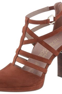 tamaris highheel-pumps »heart  sole« bruin