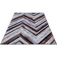 oosters tapijt, »serena gf 051«, gino falcone, rechthoekig, hoogte 3 mm, met print grijs