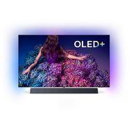 philips 65oled934-12 oled-tv (164 cm - 65 inch), 4k ultra hd, smart-tv zilver