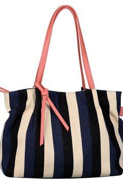 tom tailor shopper »adria« blauw