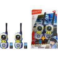 dickie toys walkietalkie walkie talkie police blauw