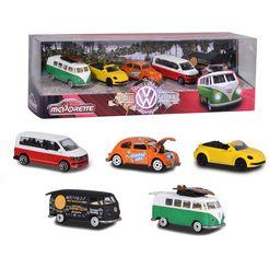 majorette speelgoedauto volkswagen giftpack (set, 5-delig) multicolor
