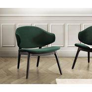 andas fauteuil »sporring« met onderstel van massief essenhout, design by morten georgsen groen