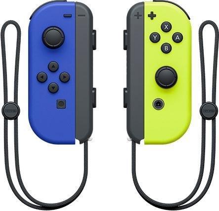 Nintendo Switch »Switch Joy-Con 2er-Set Blau/Neon-Gelb« switch-controller voordelig en veilig online kopen
