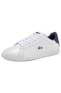lacoste sneakers graduate tri 1 sfa wit