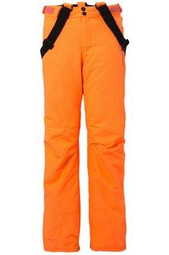brunotti skibroek »footstrap jr« oranje