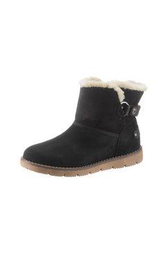 tom tailor bootschoenen schwarz