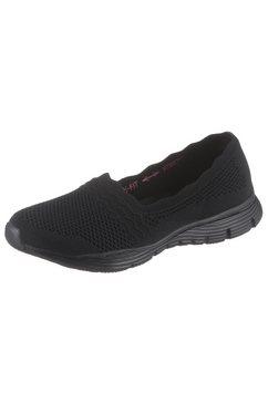 skechers sneaker-ballerina's »seager - umpire« zwart