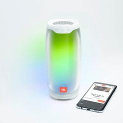 jbl bluetooth-luidspreker »pulse 4« (bluetooth, 20 watt) wit
