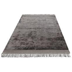 vloerkleed, »rakel«, leonique, rechthoekig, hoogte 10 mm, met de hand geweven grijs
