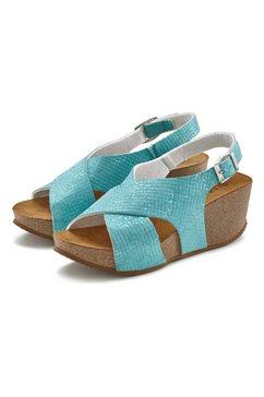 lascana sandaaltjes blauw