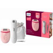 philips epilator brp531-00 satinelle essential inclusief mini-epilator en pincet roze