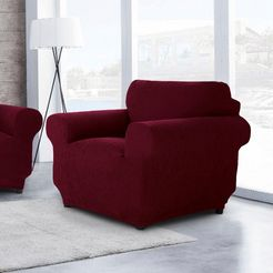 sofaskins fauteuilhoes »diamante«, sofaskins rood